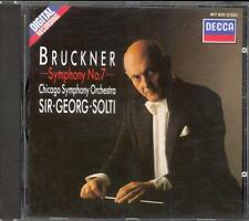 BRUCKNER - Symphony 7 - Georg SOLTI / Chicago Symphony Orchestra - Decca