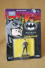 New Old Stock 1991 Batman Returns Die-Cast Metal Catwoman by ERTL