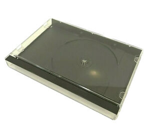 Sega CD Sega Saturn PS1 Playstation 1 Long Box - Blank Replacement Case Sealed