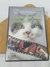 Caring For Your Diabetic Cat Dvd Cornell University New Sealed