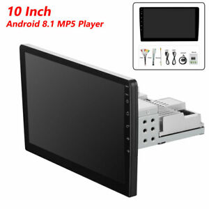 10 Inch HD Android 8.1 Bluetooth GPS Navigation Car MP5 Player 12V 1024*600