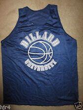 Dillard University Bleu Devils Basketball Team Practice Game Worn Jersey LG