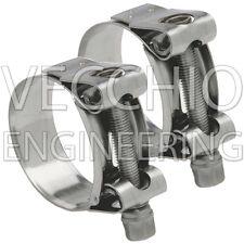 Mikalor Supra W4 de acero inoxidable de alta presión resistente Abrazaderas de Manguera 55-59mm x2