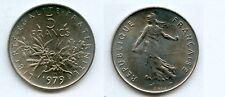 5  FRANCS  Semeuse Cupro-Nickel 1979 Année RARE