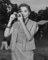 American Actress Jane Greer Stars As A Magazine Photographer In The OLD PHOTO
