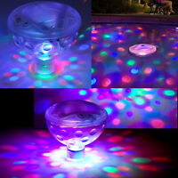 Underwater LED Floating Disco Light Show Bath Tub Swimming Pool Party Lights Z