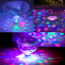 Unterwasser LED Floating Disco Licht Show Badewanne Schwimmbad Party Lights OXDE