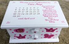 Personalised Musical Jewellery Box, Memory Box, Keepsake gift