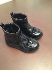 Girl Infant Size 5 Black Boots Blue Zoo Debenhams Bow