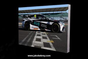 BTCC 2021 Aron Taylor-Smith Motor Sport Canvas