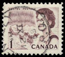 "CANADA 454 - Centennial ""Dog Sled Team"" 1967 DF-DEX Paper (pf57332)"
