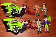 VINTAGE 80s BEETLEJUICE ACTION FIGURES PHANTOM FLYER VEHICLES 1989 1990 KENNER