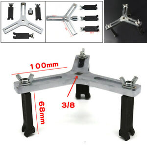 3-jaw Car Fuel Pump Lid Tank Cover Remover Spanner 3-16cm Adjustable Wrench Tool