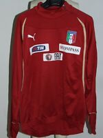 Trikot Fußball Jacke Sweatshirt Plush Trikot Camiseta Italien Italy Größe L