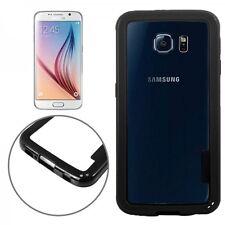Hybrid Bumper Hülle Case Schwarz Schale Kappe für Samsung Galaxy S6 G920 G920F