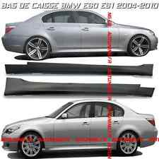 2 BAS DE CAISSE PACK M / M5 EN ABS BMW SERIE 5 E60 ET E61 2003-2010