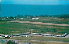 Ripley New York~Wilson Motel~Birdseye~Lake Erie~Farm~1950s Postcard