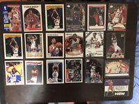 Chris Bosh And Charles Barkley Cards Lot (x19)
