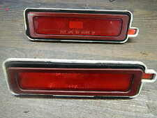 1982-1992 Firebird/trans am páginas luminarias/Sidemarker lamps, detrás/rojo, ORIG. gm
