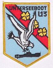 """écusson broder Marine Unterseeboot SOUS-MARIN """" U13 """" A2605"""