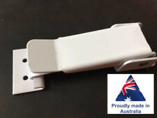 White Toggle Roof Clamp - Suits Pop Top Caravan, Camper Trailer, Jayco Expanda