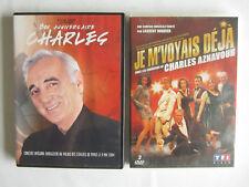 DVD Charles Aznavour - Bon anniversaire Charles Concert 2004 + Je m'voyais déjà