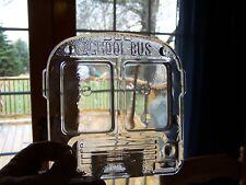 Studio Nova School Bus Frame Clear Glass