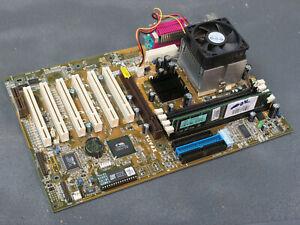 ASUS TUV4X v1.01, Celeron 800MHz (SL54P), 256MB SD