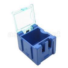 10 x Blue Mini Composable Electronic Component Parts Storage Case Box SMT SMD