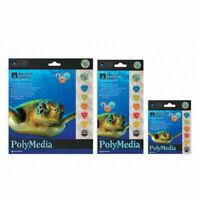 Aquarium Systems PolyMedia Fish Tank Filter Media Twin Disks Breeder 3 Sizes