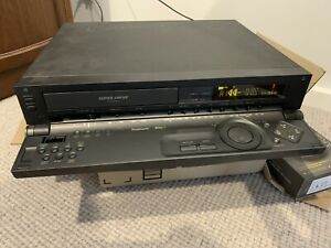 Panasonic NV-HS-800 Semi Professional S-VHS VCR Japan Super Vhs