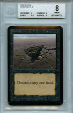 MTG Alpha Sinkhole BGS Graded 8.0 NM-MT magic Card Amricons 4771