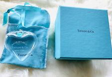 Authentic Tiffany & Co Christmas Holiday Heart Return To Tiffany Glass Ornament