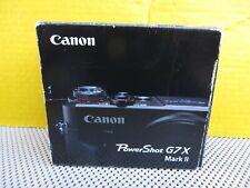 Canon PowerShot G7X Mark II 20.1MP Digital Camera with BOX   * L@@K