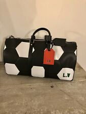 Louis Vuitton x 2018 FIFA World Cup Keepall Black And White  Bandouliere 50 Bag