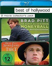 MONEYBALL: Die Kunst zu gewinnen + SIEBEN JAHRE IN TIBET (2 Blu-ray Discs) NEU