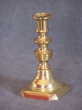 "Vintage Baldwin Brass Beehive Style 4 1/4"" Candlestick Holder"