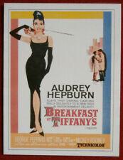 AUDREY HEPBURN - Individual Card # 07 - Movie Idols Set - BREAKFAST AT TIFFANY'S