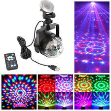 DE RGB USB Mini Discokugeln Lichteffekte Lichteffekt Bälle Rotation Party  Dekor