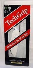 NEW TechGrip mg Golf High Tech Golf GLOVE Regular Mens Left ML Cabretta Leather