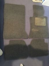 Mercedes w124 genuine Floor Mats.bluey grey with blue piping. X4