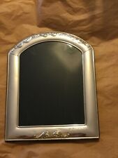 """Vintage Daniel Italian Marked 925 Sterling Silver Picture Frame - 9.75""""W x 12""""H"""