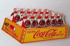 1950's, Coca Cola 24 Bottle Crate-Shaped Plant Tour Souvenir Booklet