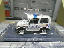 SUZUKI Samurai LJ SJ 410 SJ410 SUV Police Polis Polizei Atlas IXO Altaya SP 1:43