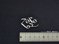 Led Zeppelin Necklace stainless steel Zoso Pendant merch logo symbol