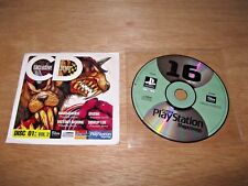 Official UK PlayStation 1 Magazine Demo Disc 16 ~ WARHAMMER ~ DISRUPTOR ~