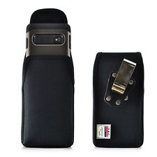 Galaxy S10 Holster Metal Clip Case Pouch Nylon Vertical Turtleback