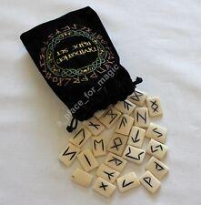 NEW Bone Bones Runes Rune Set