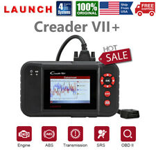 LAUNCH X431 VII+ OBD2 Auto Diagnostic Tool Scanner Engine Check ABS SRS for GM