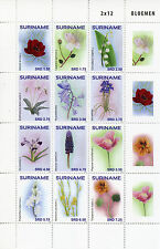 Surinamese Block Thematic Postal Stamps